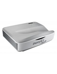 Optoma ZH400USTi data projector Desktop 4000 ANSI lumens DLP 1080p (1920x1080) 3D Grey Optoma 95.78W02GC0E - 1