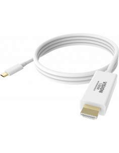 Vision TC 3MUSBCHDMI cable gender changer HDMI USB-C Valkoinen Vision TC 3MUSBCHDMI - 1