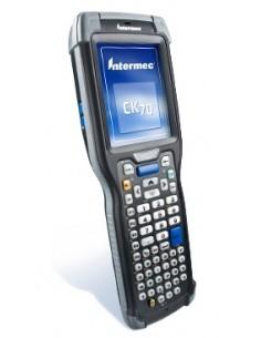 "Intermec CK71a mobiilitietokone 8.89 cm (3.5"") 480 x 640 pikseliä Kosketusnäyttö 584 g Musta Intermec CK71AA4DC00W4100 - 1"