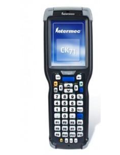 "Intermec CK71 mobiilitietokone 8.89 cm (3.5"") 480 x 640 pikseliä Kosketusnäyttö 584 g Musta, Harmaa Intermec CK71AB4DC00W1100 -"