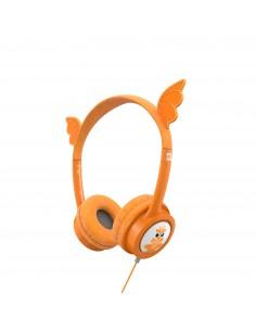 IFROGZ 304101848 hörlur och headset Hörlurar Huvudband 3.5 mm kontakt Orange Zagg 304101848 - 1