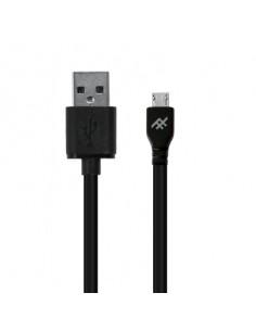 ZAGG 409903212 USB-kaapeli 1 m USB 2.0 Micro-USB A Musta Zagg 409903212 - 1