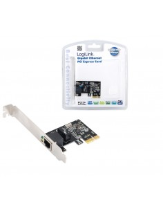 LogiLink Gigabit PCI Express Network Card 1000 Mbit/s Logitech PC0029A - 1