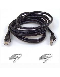 Belkin CAT 5 PATCH cable networking Black m Belkin A3L791B05M-BLK - 1