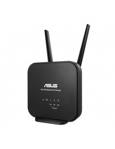ASUS 4G-N12 B1 wireless router Fast Ethernet Single-band (2.4 GHz) Black Asus 90IG0570-BM3200 - 1