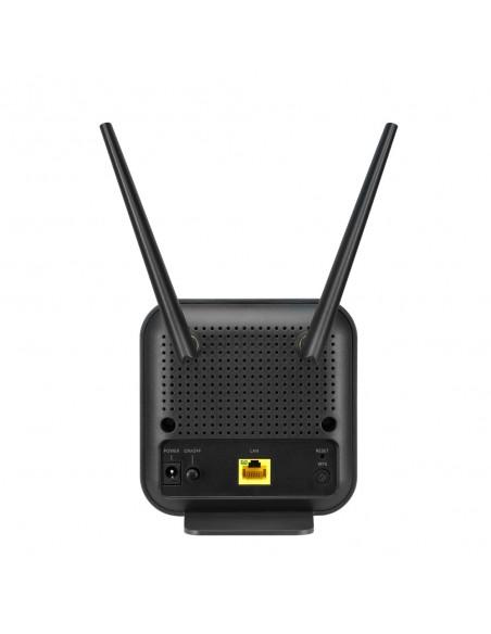 ASUS 4G-N12 B1 langaton reititin Nopea Ethernet Yksi kaista (2,4 GHz) Musta Asus 90IG0570-BM3200 - 4