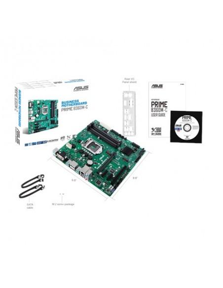 ASUS B360M-C Intel® B360 LGA 1151 (pistoke H4) mikro ATX Asus 90MB0W80-M0EAYM - 5