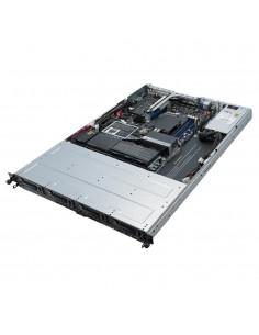 ASUS RS300-E10-PS4 Intel C242 LGA 1151 (uttag H4) Rack (1U) Svart, Metallisk Asus 90SF00D1-M00020 - 1