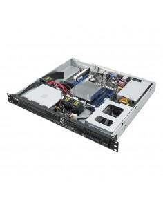 ASUS RS100-E10-PI2 Intel C242 LGA 1151 (uttag H4) Rack (1U) Svart, Metallisk Asus 90SF00G1-M00050 - 1