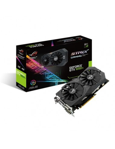ASUS STRIX-GTX1050TI-O4G-GAMING NVIDIA GeForce GTX 1050 Ti 4 GB GDDR5 Asus 90YV0A30-M0NA00 - 1