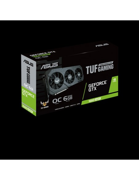 ASUS TUF Gaming TUF-3-GTX1660S-O6G-GAMING NVIDIA GeForce GTX 1660 SUPER 6 GB GDDR6 Asus 90YV0DS0-M0NA00 - 10