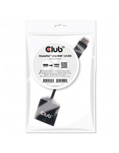 CLUB3D DisplayPort 1.2 to HDMI 2.0 UHD Active Adapter Club 3d CAC-2070 - 1