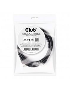 CLUB3D Mini DisplayPort 1.2 HBR2 Cable M/M 2m/6.56ft 4K60Hz Club 3d CAC-2161 - 1