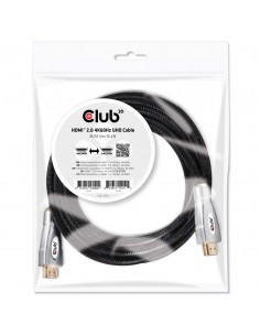 CLUB3D HDMI 2.0 4K60Hz UHD Cable 5m/16.4ft Club 3d CAC-2312 - 1