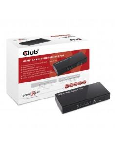 CLUB3D HDMI 2.0 UHD Splitter 4 Ports Club 3d CSV-1380 - 1