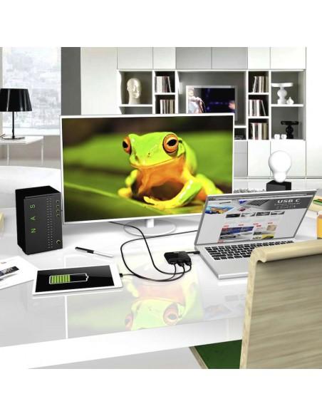 CLUB3D USB Type-C to HDMI™ 2.0 + Charging Mini Dock Club 3d CSV-1534 - 5