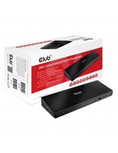CLUB3D CSV-1562 dockningsstationer för bärbara datorer Dockning Svart Club 3d CSV-1562 - 1