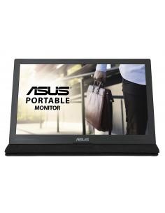 """ASUS MB169C+ 39.6 cm (15.6"""") 1920 x 1080 pikseliä Full HD LED Musta, Hopea Asustek 90LM0180-B01170 - 1"""