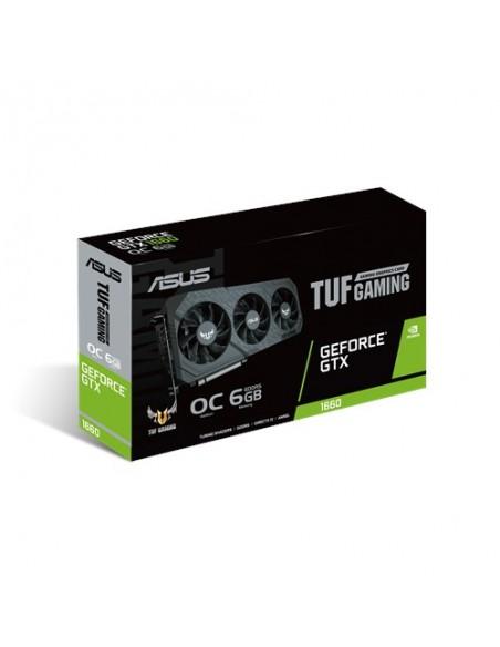 ASUS TUF Gaming TUF3-GTX1660-O6G-GAMING NVIDIA GeForce GTX 1660 6 GB GDDR5 Asustek 90YV0D15-M0NA00 - 7