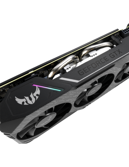 ASUS TUF Gaming TUF3-GTX1660-O6G-GAMING NVIDIA GeForce GTX 1660 6 GB GDDR5 Asustek 90YV0D15-M0NA00 - 8