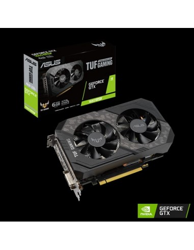 ASUS TUF Gaming TUF-GTX1660S-6G-GAMING NVIDIA GeForce GTX 1660 SUPER 6 GB GDDR6 Asustek 90YV0DT2-MTNA00 - 1
