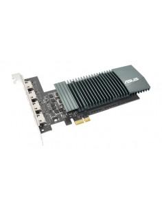 ASUS GT710-4H-SL-2GD5 NVIDIA GeForce GT 710 2 GB GDDR5 Asustek 90YV0E60-M0NA00 - 1