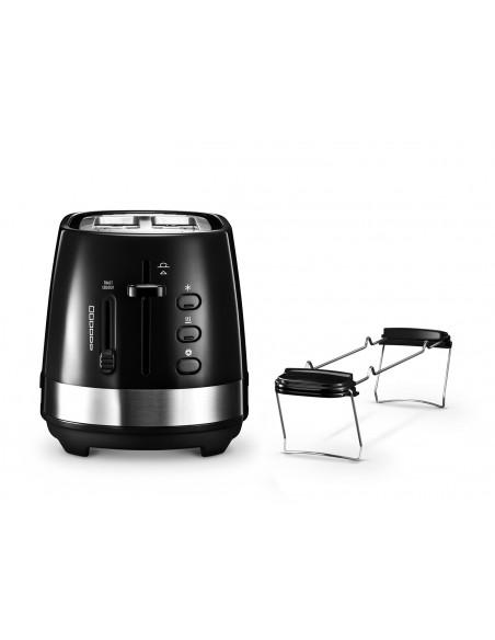 DeLonghi Toaster Active Line CTLA 2103.BK 2 viipale(i)ta 900 W Musta Delonghi CTLA 2103.BK - 1