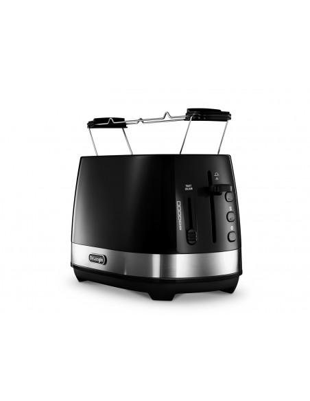DeLonghi Toaster Active Line CTLA 2103.BK 2 viipale(i)ta 900 W Musta Delonghi CTLA 2103.BK - 2