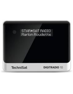 TechniSat DIGITRADIO 10 Henkilökohtainen Analoginen & digitaalinen Musta, Hopea Technisat 0000/3944 - 1