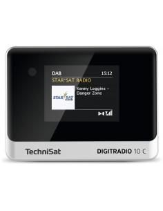 TechniSat DIGITRADIO 10 C Personal Analog & digital Black, Silver Technisat 0000/3945 - 1