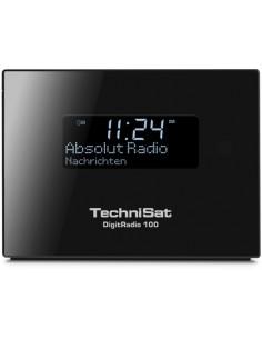 TechniSat DigitRadio 100 Klockradio Digital Svart Technisat 0000/4957 - 1