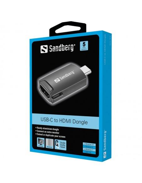 Sandberg USB-C to HDMI Dongle Sandberg 136-34 - 2