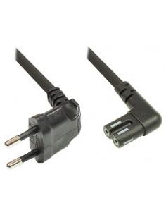 Alcasa 1550-SO050 power cable Black 5 m CEE7/16 C7 coupler Suomen Addon 92004475 - 1