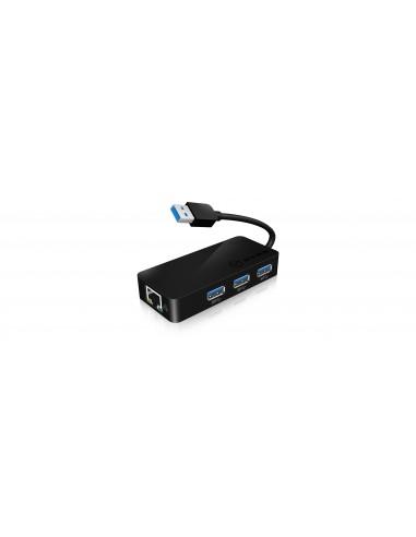 RaidSonic IB-AC517 USB 3.2 Gen 1 (3.1 1) Type-A Black Raidsonic 70545 - 1