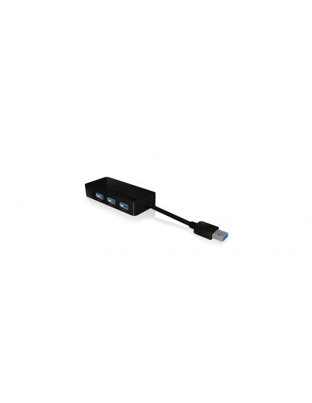 RaidSonic IB-AC517 USB 3.2 Gen 1 (3.1 1) Type-A Musta Raidsonic 70545 - 2