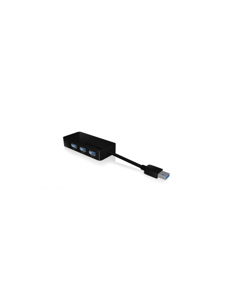 RaidSonic IB-AC517 USB 3.2 Gen 1 (3.1 1) Type-A Svart Raidsonic 70545 - 2