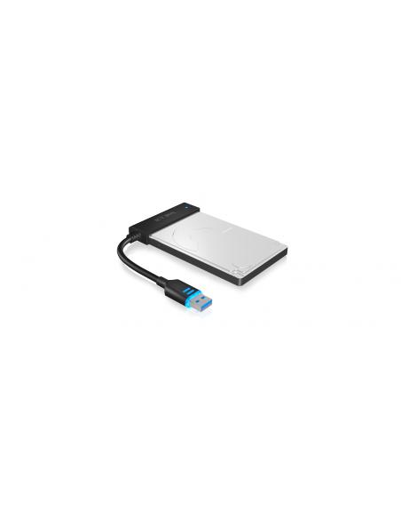 ICY BOX IB-AC603L-U3 USB 3.0 SATA Svart Raidsonic 70630 - 2