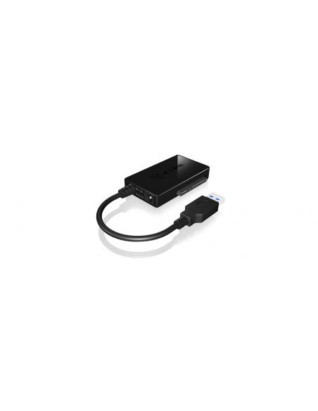 ICY BOX IB-AC704-6G interface cards/adapter USB 3.2 Gen 1 (3.1 1) Raidsonic 70650 - 3