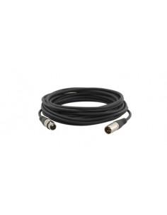 Kramer Electronics XLR Quad Style, 7.6m audio cable (3-pin) Black Kramer 95-1211025 - 1