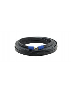 Kramer Electronics C-HM/HM/FLAT/ETH-25 HDMI-kabel 7.6 m HDMI Typ A (standard) Svart Kramer 97-01014025 - 1