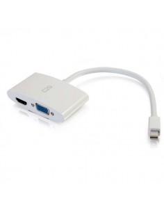 C2G 80936 kaapeli liitäntä / adapteri Mini DisplayPort HDMI + VGA Valkoinen C2g 80936 - 1