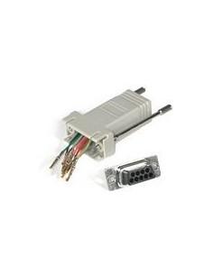 C2G RJ45/DB9M Modular Adapter Harmaa C2g 81548 - 1