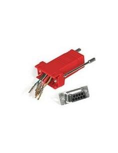 C2G RJ45/DB9M Modular Adapter Punainen C2g 81551 - 1
