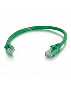 C2G 0.5m Cat6 Booted Unshielded (UTP) Network Patch Cable - Green C2g 83425 - 1