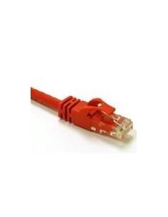 C2G 0.5m Cat6 Snagless CrossOver UTP Patch Cable nätverkskablar Röd 0.5 m C2g 83556 - 1