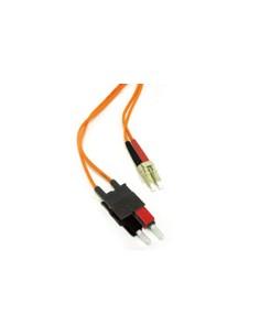 C2G 10m LC/SC LSZH Duplex 50/125 Multimode Fibre Patch Cable verkkokaapeli Oranssi C2g 85324 - 1