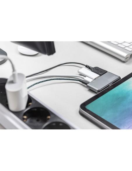 ASSMANN Electronic DA-70883 mobiililaitteiden telakka-asema Tabletti/Älypuhelin Harmaa Assmann DA-70883 - 9