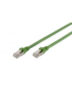 Digitus DK-1644-A-PUR-150 nätverkskablar Grön 15 m Cat6a S/FTP (S-STP) Assmann DK-1644-A-PUR-150 - 1