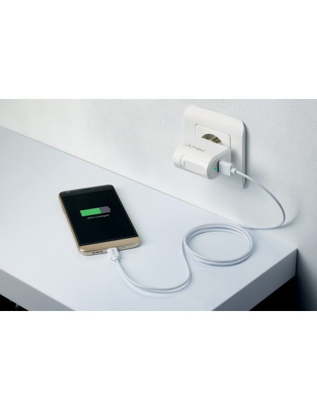 PNY P-AC-TC-WEU01-RB mobile device charger White Indoor Pny P-AC-TC-WEU01-RB - 4