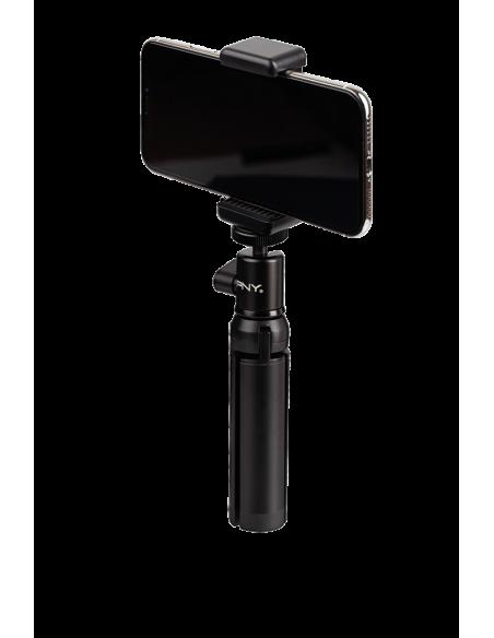 PNY P-T-BTRI001K-RB tripod Smartphone/Action camera 3 leg(s) Black Pny P-T-BTRI001K-RB - 2